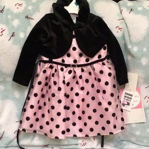 Youngland Holiday Dress Sz 24 Month